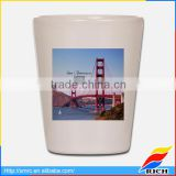 European style small mug ceramic customized shot glasses cheap