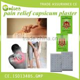 Medical back pain relieving Capsicum Plaster rheumatoid arthritis pain relief capsicum plaster