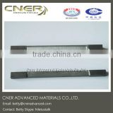 Tungsten carbide rod/alloy/tile lined for decanter, liner for centrifuge screen bowl section
