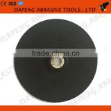 china top quality T27 Fiber glass reinforced resionoid marble depressed center grinding wheel
