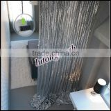 2014 new design metallic foil curtain for decoration
