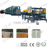 continuous pu foam sandwich wall panel machine for clean room panels