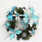 2014 Yiuwu Aimee supplies wholesale artificial christmas wreaths,christmas wreath (AM-CD010)