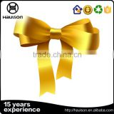 hot sale good quality cheap gold black color ribbon