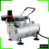 DU-112 air brush compressor oilfree airbrush compressor