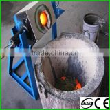 High Frequency small Induction Melting Furnace For Gold Copper Silver