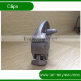 common cast aluminium toggling machine clips