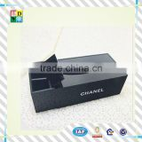 2015 custom multiuseful design simple black accrylic tissue box acrylic custom printed tissue box