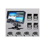 Bus RV Truck Vehicle Monitoring Systems Including 7 Inch Monitor + Rear View 4 Camera