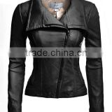 New Brand Top Quality Hot Sale Beauty Cheap Price Ladies Leather Jacket