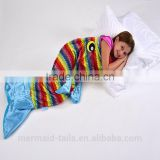 Children Mermaid Princess sleeping bag Nemo Fish Tail Sleeping blankets