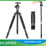 BILDPRO AK-264 Heavy Load Travel Tourism Tripod 25mm Aluminum Tripod Leg