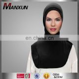 Fashion Muslim Scarf /Shawl Full Cover Inner Muslim Cotton Hijab Cap Islamic Women Head Wear Hat Underscarf Colors