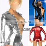 Sexy leather fetish costume Dance wear Sexy lingeries sexy apparel,