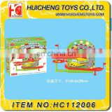 wholesale B/O happy school bus electric slot car racing track set for kids