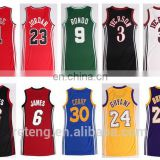 Custom sublimation all star basketball jersey sleeveless t shirt dress