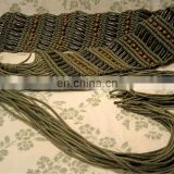 rope knot belts macrame rope bel women fashion belt cotton rope belts