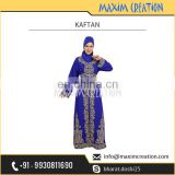 Royal Blue Colour Party Wear/Long Maxi Caftan Dress for Sale