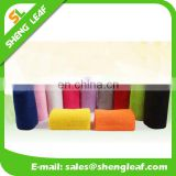 cotton wristband sweatband without any logo solid color customized emboridery logo