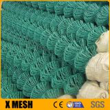PVC Chain Link Garden Security Wire Mesh Iron Metal Farm Fence for Garden