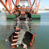 Sand suction dredging machine