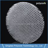 Fungi Resistant And Energy Absorption  Lighting Equipments Orange Honeycomb Panel