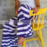 New collection popular Willow stripe Ruffle Pants Teen/Women