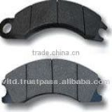 car, truck, bus, heavy duty vehicle, auto brake pad, brake shoe, brake lining