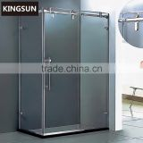 Guangzhou Wholesaler Small Bathroom Design Glass Sliding Doors Shower Room Enclosure K-7221