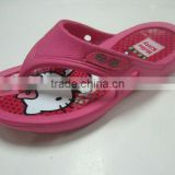 Korea kawayi style hello kitty charm clogs shoes 2013 slipper