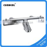 Bar Mixer Shower Set - Modern Bathroom Chrome Thermostatic Valve Bath Filler Tap                                                                         Quality Choice