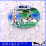 Custom Tourist Souvenir Resin 3D Fridge Magnets With MIni Thermometer