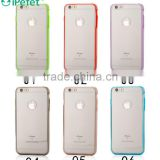 iPefet- Wholesale Hybrid Blank Color Print Transparent Cell phone covers for Apple iPhone 6s