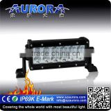 Aurora IP69K waterproof 6 inch offroad led driving light bar car led light bar led lighting for trucks