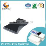 Soft Frosted Plastic Blue Film In Pvc For Packaging