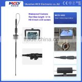 IP68 Waterproof HD video under vehicle inspection camera , under car security camera MCD-V6D