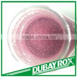 Enviromental-Protection Pink Glitter Powder for Crafts Decoration Manufacture
