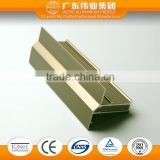 Made in china the hot sale good industrial extruded aluminium profile to make doors and windows