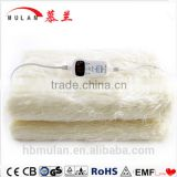 faux fur throw electric blanket