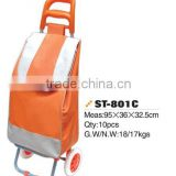 Hot sale foldable shopping bag, foldable shopping cart bag or foldable shopping trolley bag