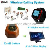 KOQI restaurant waiter call button 433mhz wireless call system table buzzer