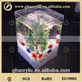 High quality acrylic portable fish tank mini glass fish bowl