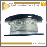 8x19S+FC 11mm polished ungalvanized steel wire rope wire cable for elevator lifting general purpose