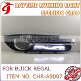 Car Accessories FOR BUICK REGAL With Fog Lamp DRL Daytime Running LIGHT