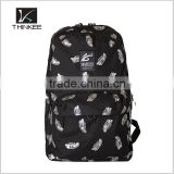 black waterproof nylon notebook computer laptop backpack travel bag                                                                                                         Supplier's Choice