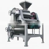 Stoning and pulping machine suitable for mango, peach, apricot, red bayberry and so on