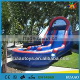 2015 summer pool slide/wet slide/inflatable swimming pool slide