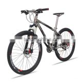 Factory price 26'' 27.5'' mountain bike with BAOTI titanium alloy frame