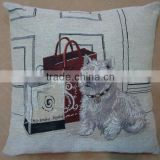 jacquard cushion polycotton cushion for home &hotel decoration &promotion&gift &supermarket retail-ralph