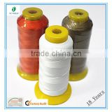 Industrial Polyester High Tenacity Thread For Shoes 300D 420D